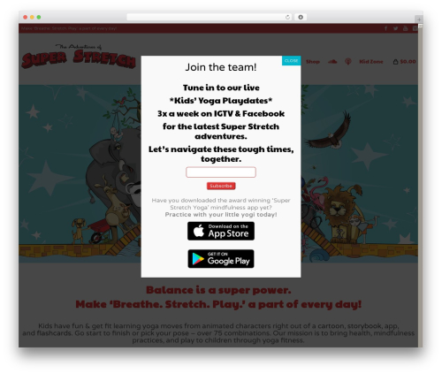 Free WordPress Popup Manager plugin - adventuresofsuperstretch.com