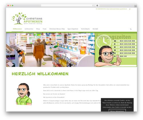 Template WordPress Enfold - alheimer-apotheke.de