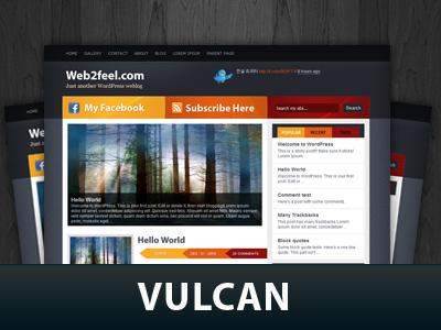 Vulcan WP theme