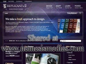 WordPress theme Replicant2 Wordpress Theme