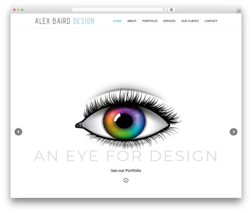 Xone WordPress theme design - abdesign.com.au