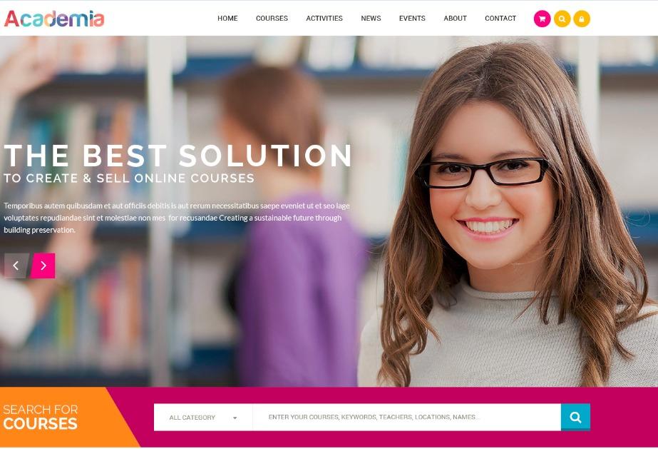 Academia Child Theme theme WordPress