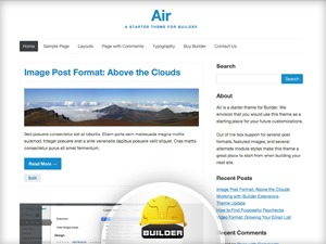 Air template WordPress