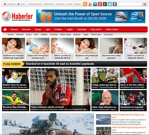 Ajans5 Haber WordPress website template