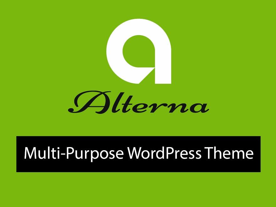 alterna9 WordPress theme