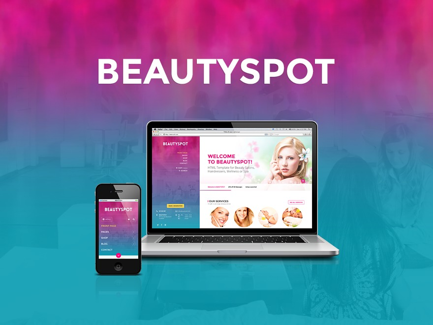 BeautySpot (shared on wplocker.com) WordPress ecommerce theme