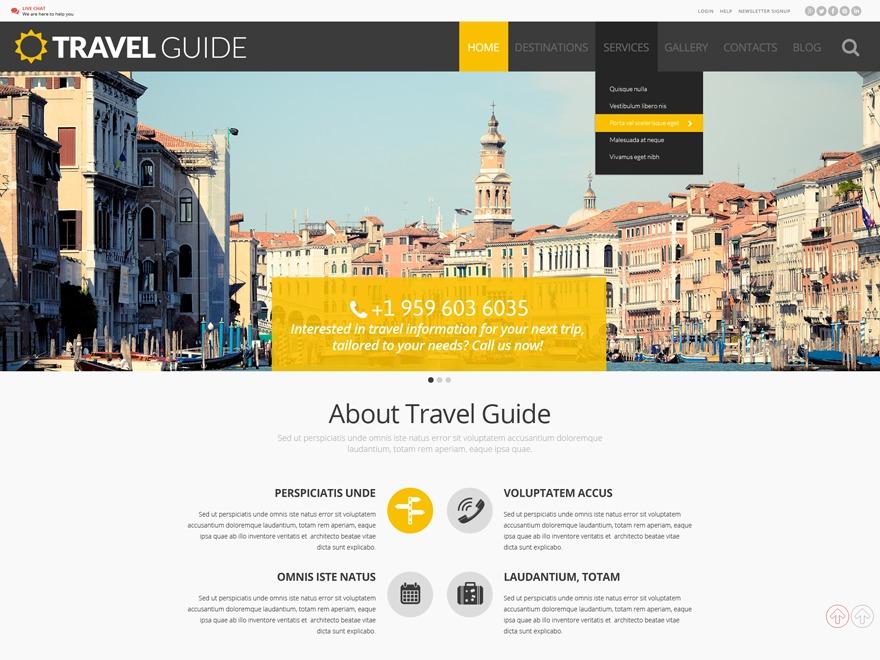 Best WordPress template theme54988