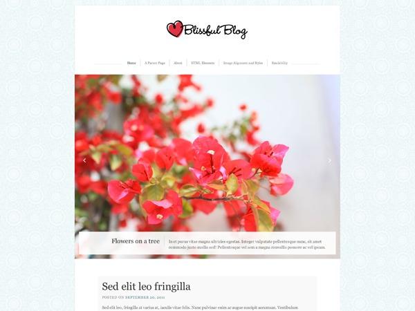 Blissful Blog – WordPress.com WordPress blog theme