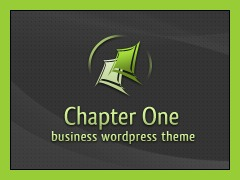 Chapter One company WordPress theme