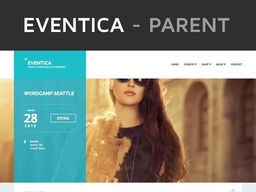 Eventica WordPress shop theme