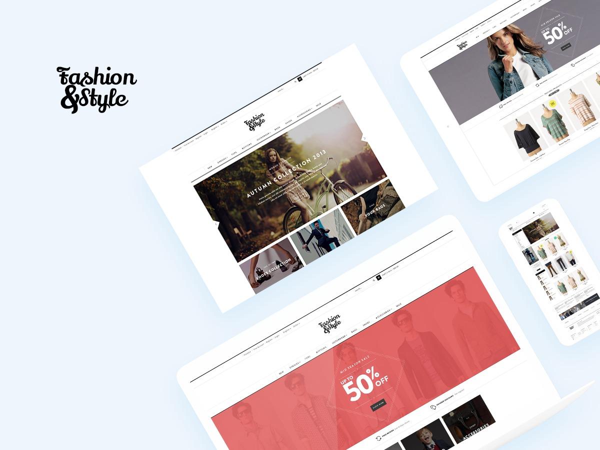 Fashion fashion WordPress theme