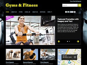 Gyms & Fitness fitness WordPress theme