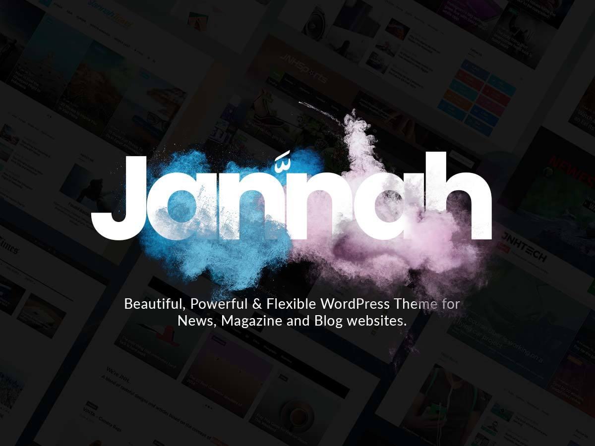 Jannah WordPress magazine theme