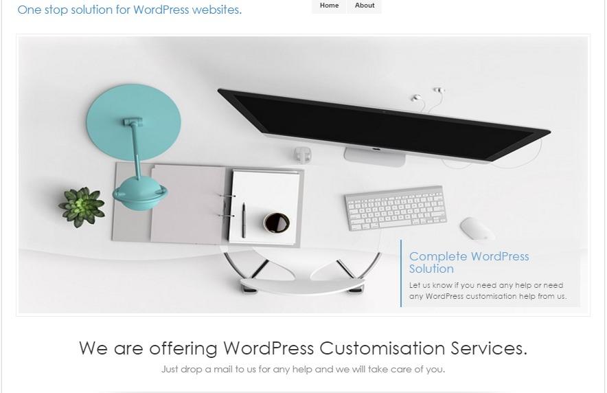 LookWay WordPress blog template