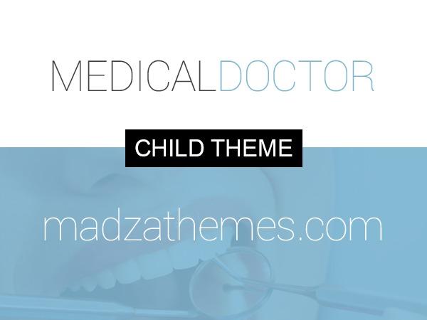 MedicalDoctor Child Theme medical WordPress theme