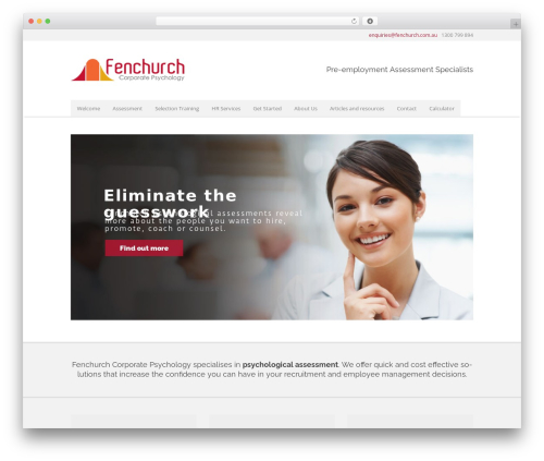 Free WordPress Flare plugin - fenchurch.com.au