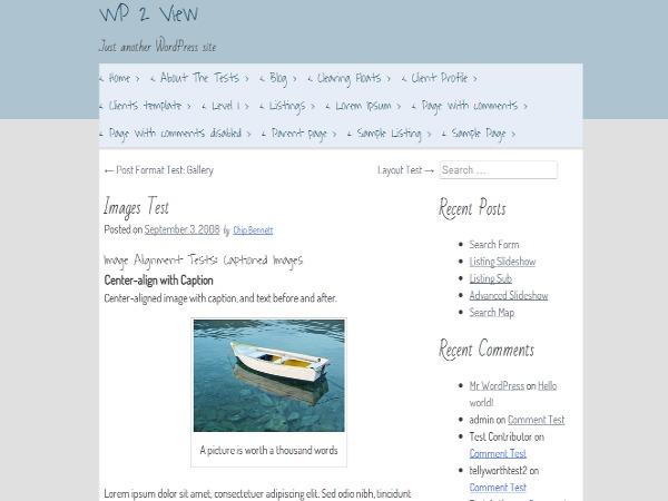 Metronome WordPress blog template