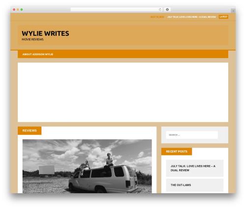 MH Squared WordPress theme design - wyliewrites.com