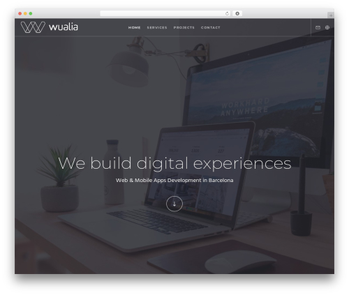Movedo WordPress theme - wualia.com