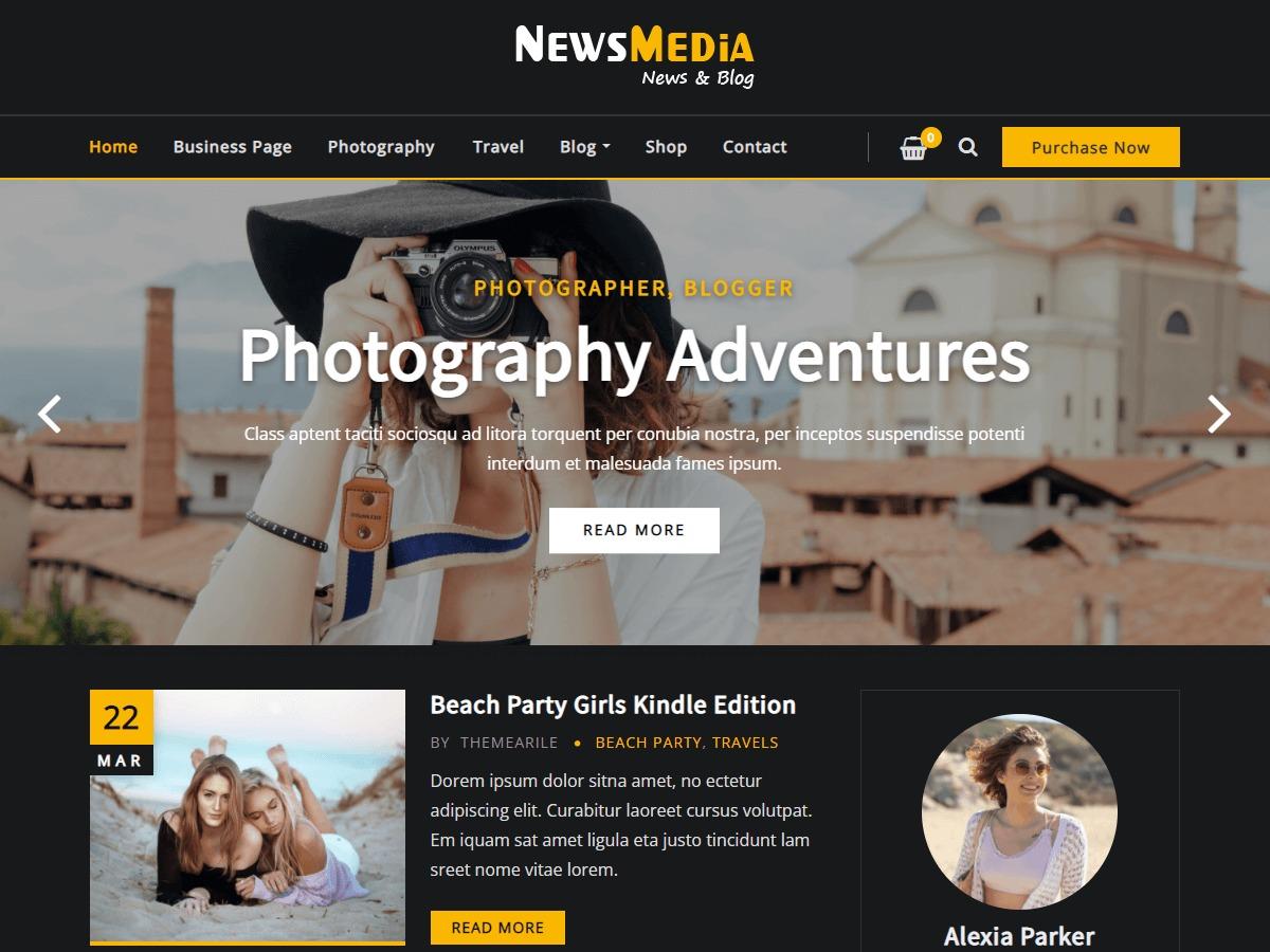 NewsMedia best WordPress magazine theme