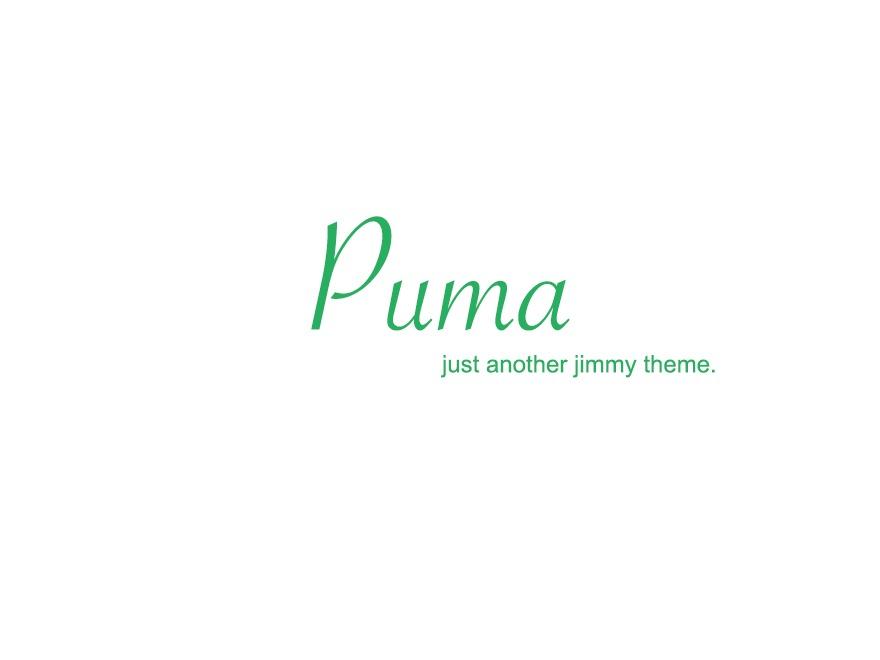 Puma theme WordPress
