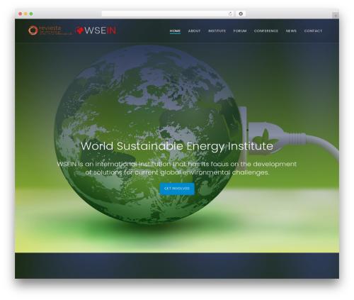 Quark Progression best WordPress template - world-sustainable-energy.com