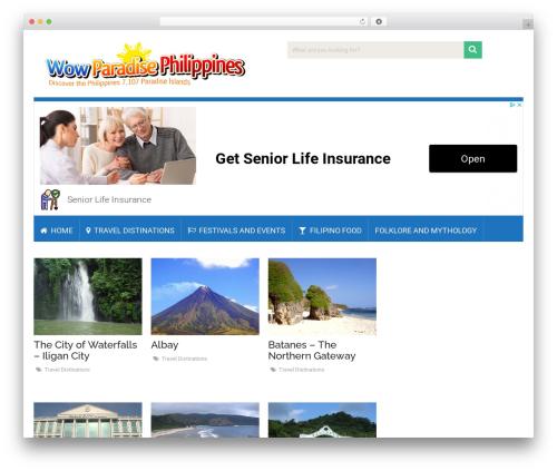 SociallyViral by MyThemeShop WordPress shopping theme - wowparadisephilippines.com