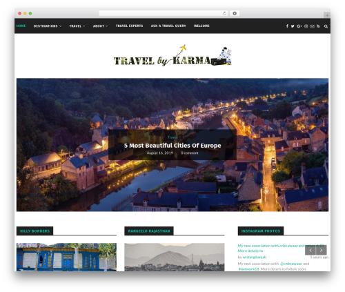 soledad WordPress travel theme - writergitanjali.com