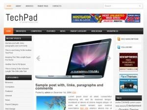 TechPad best WordPress video theme