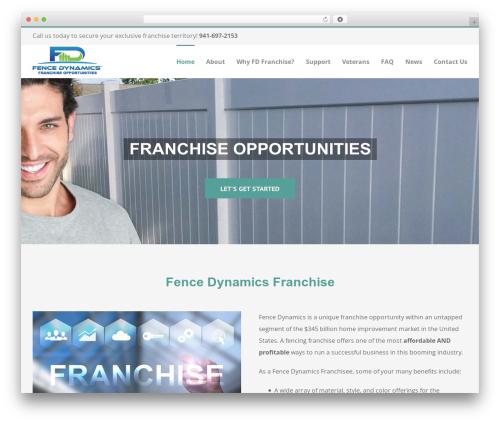 Template WordPress Avada - fencedynamicsfranchise.com