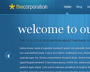 TheCorporation Child WordPress page template