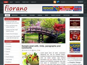 Theme WordPress Fiono