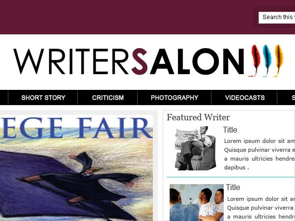 Theme WordPress Writersalon