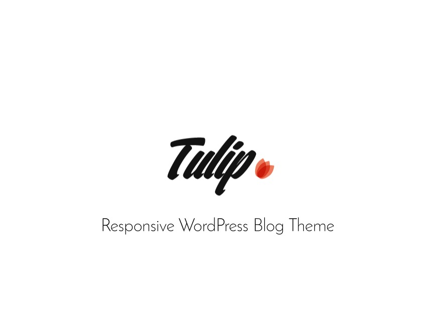 Tulip WordPress blog theme