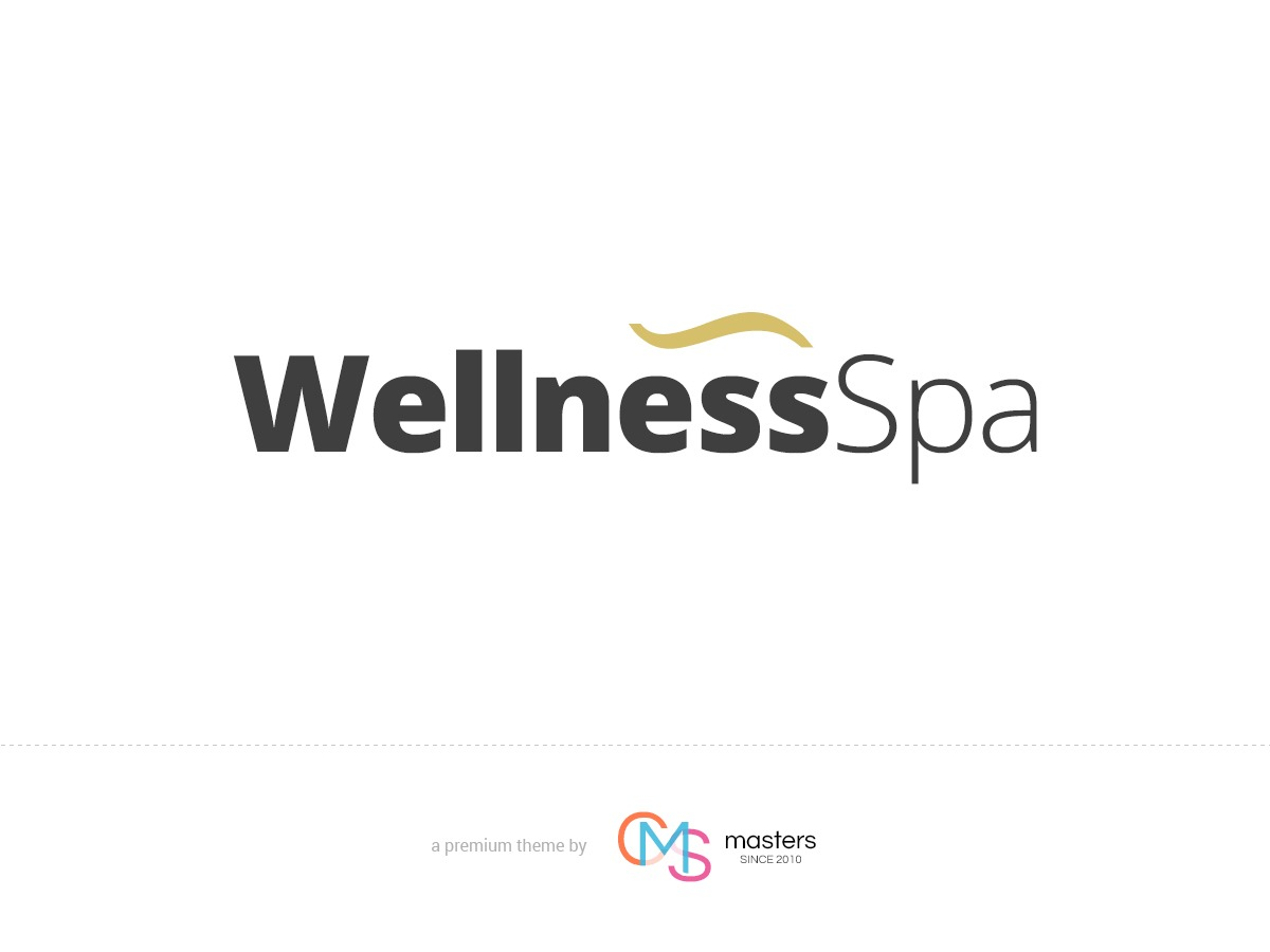 Wellness SPA personal WordPress theme