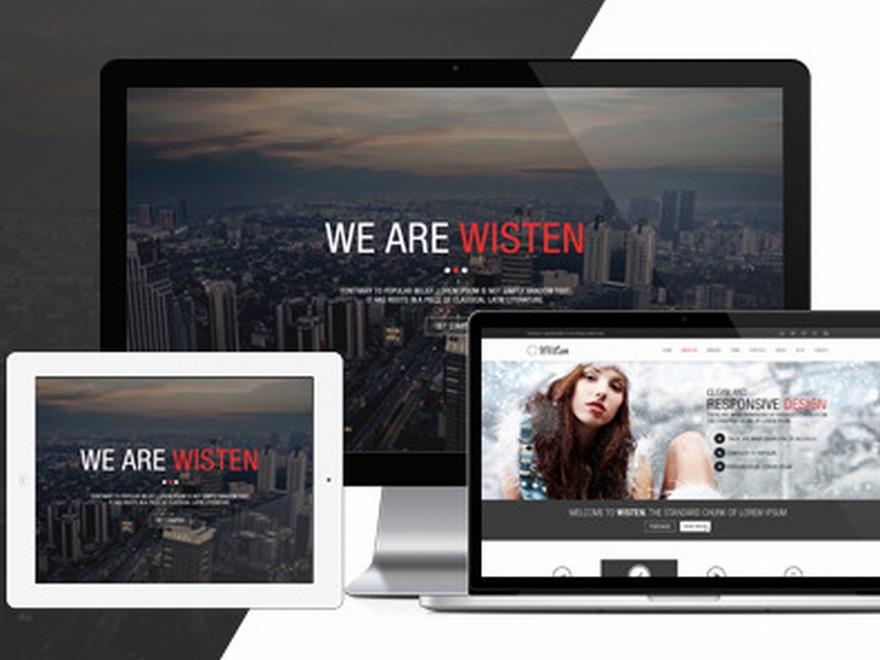 Wisten best portfolio WordPress theme