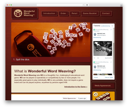 Free WordPress Page-list plugin - wonderfulwordweaving.com