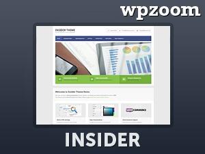 WordPress template Insider