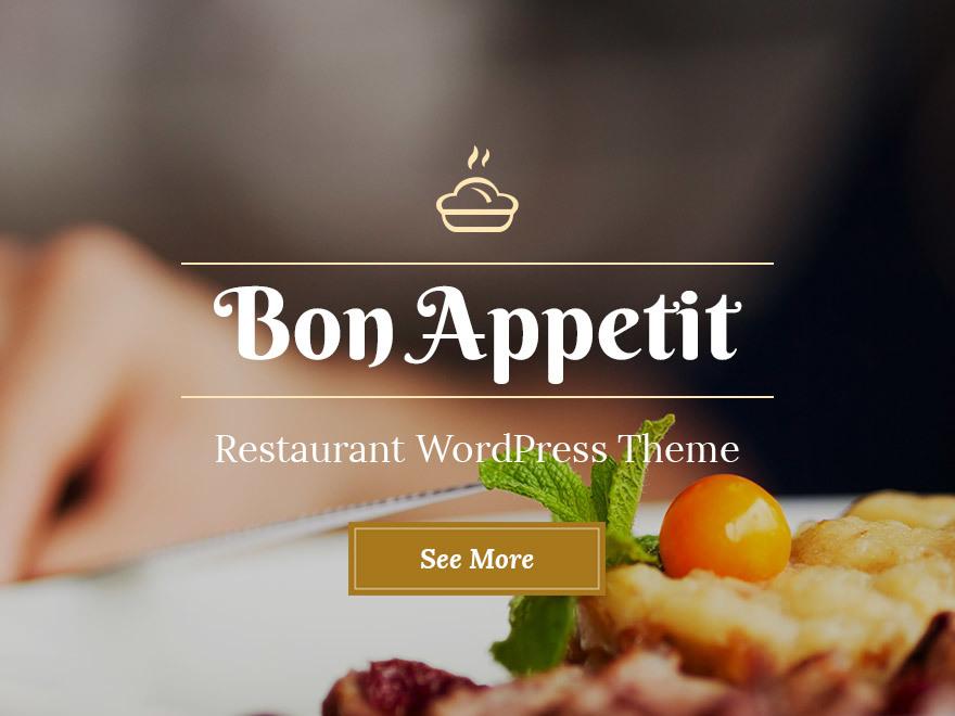 WordPress theme BonAppetit