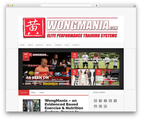 WordPress theme Nexus - wongmania.com