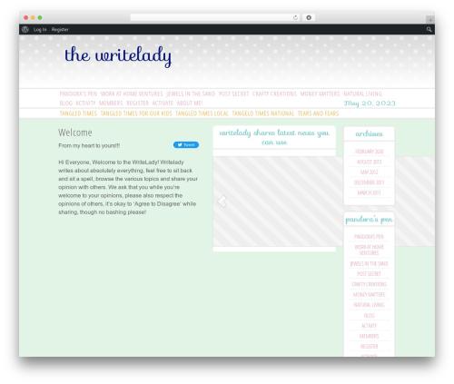 Free WordPress WordPress Post Tabs plugin - writelady.net