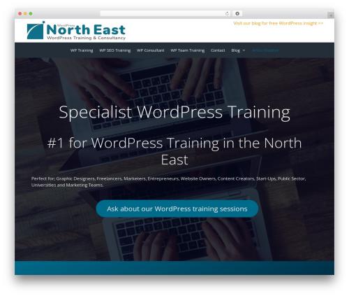 WP theme GeneratePress - wp-northeast.co.uk