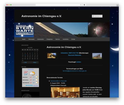 Free WordPress Category – RSS widget menu plugin - astronomie-im-chiemgau.de