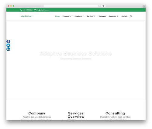 Free WordPress Fuse Social Floating Sidebar plugin - adaptbiz.com