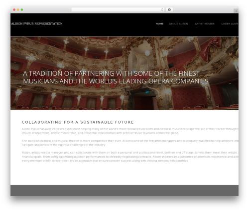 MAMMOTH-WP best WordPress template - aprepresentation.com