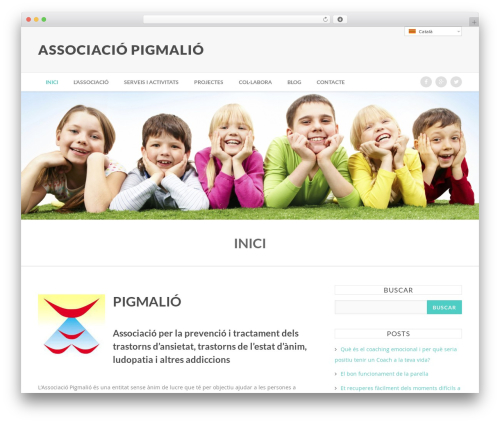 Theme WordPress Nexus - associaciopigmalio.org