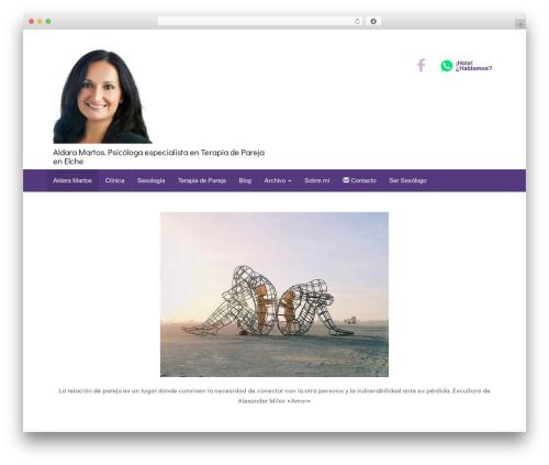 Unite best WordPress theme - aldaramartos.com