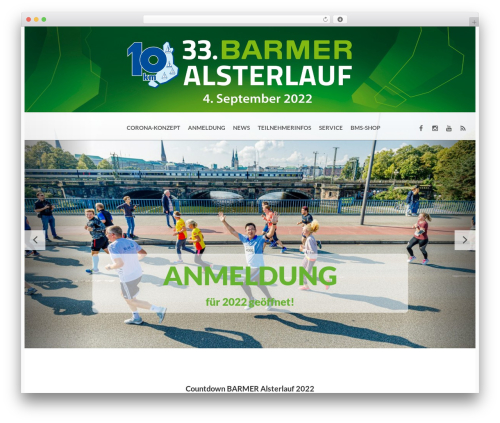 WordPress template BMS - alsterlauf-hamburg.de