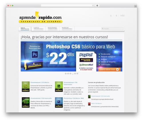 WordPress shortcodekid plugin - aprenderapido.com