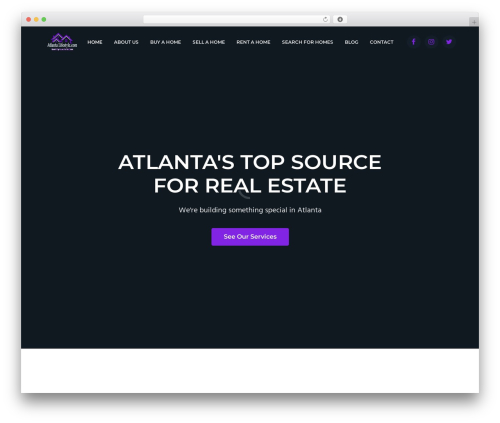 Business Pro WP template - atlantalifestyle.com